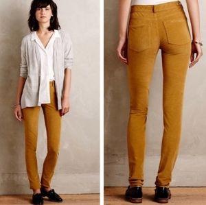 Pilcro and the Letterpress Stet corduroy pants
